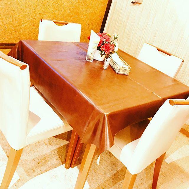 店内プチリニューアル4人席を増設致しました個室としてのご予約承ります#佐野市#洋食屋#体に優しいレストラン #プチリニューアル#個室