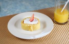 低糖質のロールケーキ